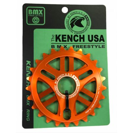 KENCH RN1 25T CNC orange sprocket