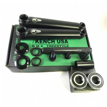 KENCH 3PC 175mm black cranks