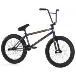 Fiend Type B 2020 clear with navy BMX bike
