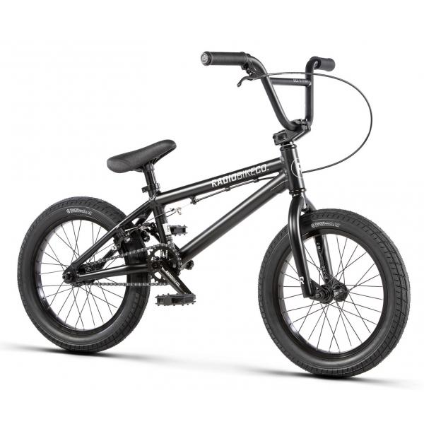Radio DICE 16 2020 16 matt black BMX bike