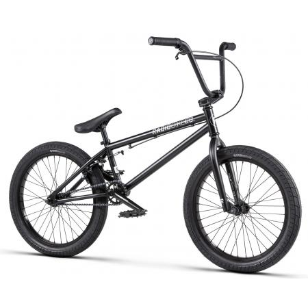 Radio DICE 20 2020 20 matt black BMX bike