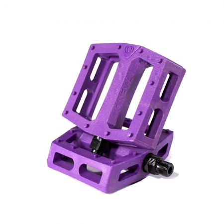 Cinema CK purple PC BMX Pedals