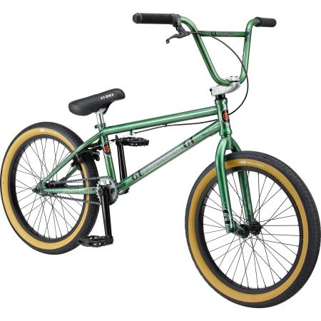 GT Performer 2020 21 green BMX bike