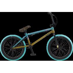 GT Mercado Team 2020 20.75 teal with gold BMX bike