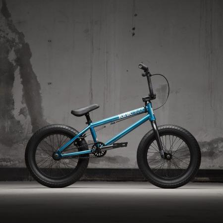 KINK Carve 16 2021 Gloss Digital Teal BMX bike