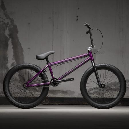 KINK Curb 2021 Gloss Smoked Fuschia BMX bike