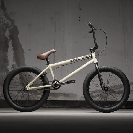 KINK Gap 2021 Matte Bone White BMX bike