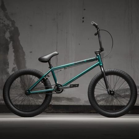 KINK Gap XL 2021 Gloss Galactic Green BMX bike