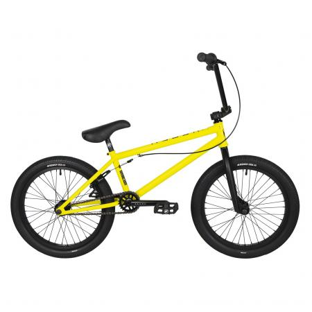 Kench Street CRO-MO 2021 20.5 yellow BMX bike