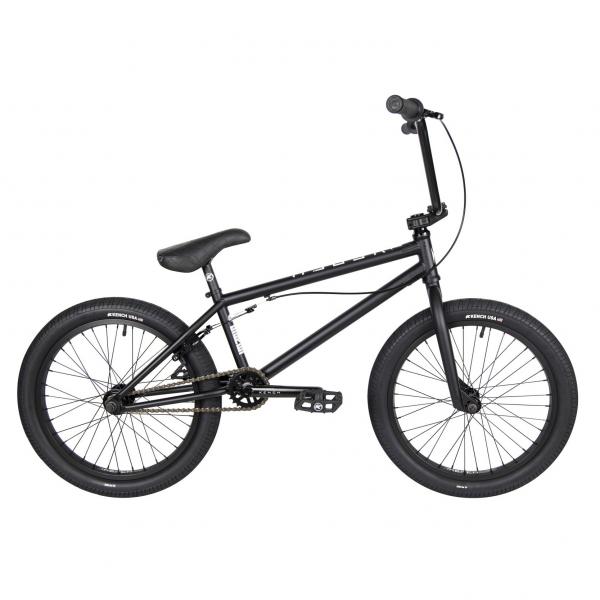 Kench Street CRO-MO 2021 20.5 black BMX bike
