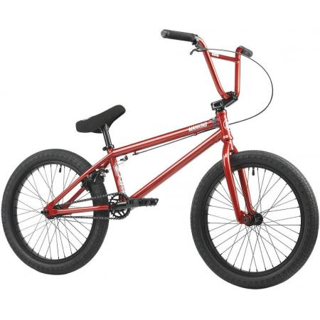 Mankind Nexus 2021 21 Chrome Red BMX Bike