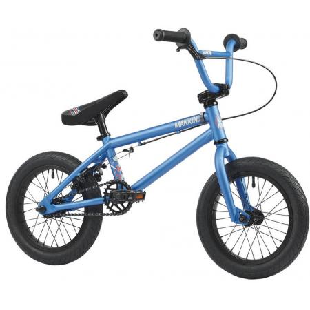 Mankind Planet 14 2021 Semi Matte Blue BMX Bike