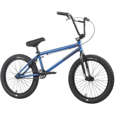 Mankind Sureshot 2021 20.5 Semi Matte Trans Blue BMX Bike