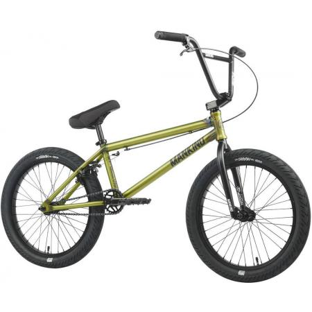 Mankind Sureshot 2021 20.5 Semi Matte Trans Green BMX Bike