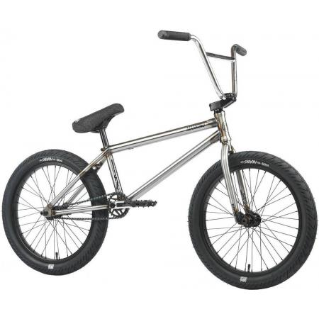 Mankind Libertad 2021 20.5 Gloss Raw BMX Bike