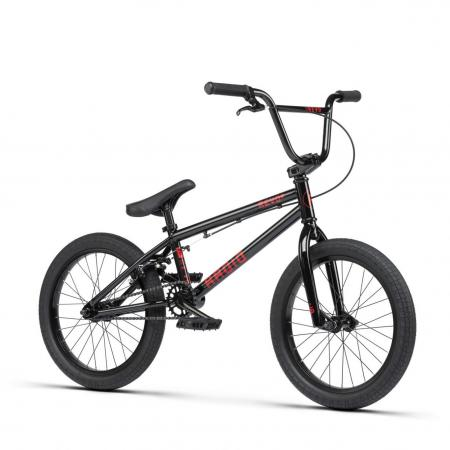 Radio REVO 18 2021 17.55 black BMX bike