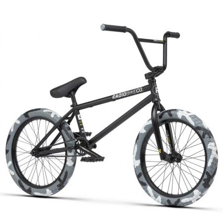 Radio Darko 2021 21 black camo BMX bike