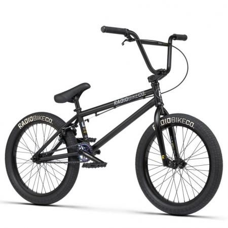 Radio EVOL 2021 20.3 matt black BMX bike