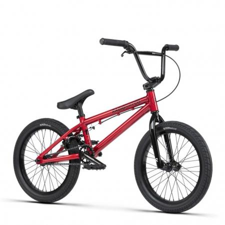 Radio DICE 18 2021 18 candy red BMX bike