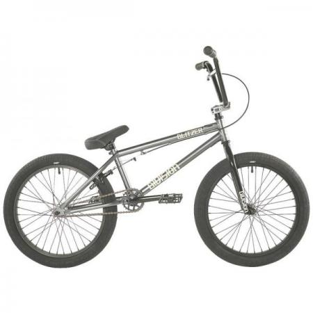 Division Blitzer 2021 19.25 Grey with Polished BMX bike