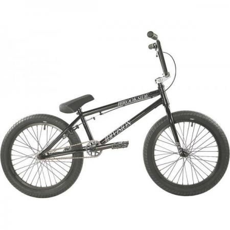 Division Brookside 2021 20.5 Black with Polished BMX bike