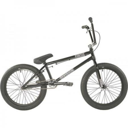 Division Fortiz 2021 21 Black with Polished BMX bike