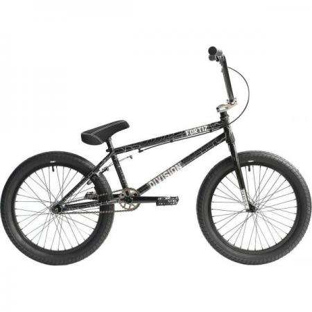 Division Fortiz 2021 21 Crackle Silver BMX bike