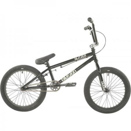 Division Blitzer 18 2021 Black with Polished BMX bike