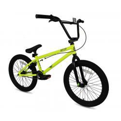 Outleap CLASH 2021 19 neon green BMX bike
