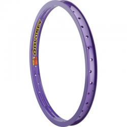 Odyssey Hazard Lite purple rim